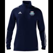 Beverley Town CC Adidas Navy Zip Junior Training Top