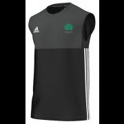 Llanarth CC Adidas Black Training Vest