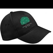 Llanarth CC Black Baseball Cap