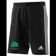 Llanarth CC Adidas Black Junior Training Shorts