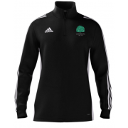 Llanarth CC Adidas Black Zip Training Top