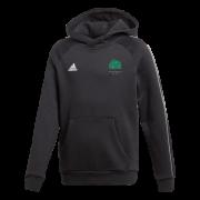 Llanarth CC Adidas Black Junior Fleece Hoody