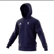 Chingford Adidas Navy Junior Fleece Hoody