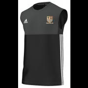 Old Xaverians CC Adidas Black Training Vest