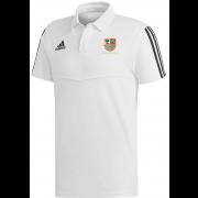 Old Xaverians CC Adidas White Polo