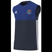 Holtwhite Trinibis CC Adidas Navy Training Vest