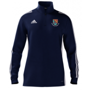 Holtwhite Trinibis CC Adidas Navy Zip Junior Training Top