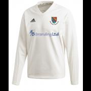 Holtwhite Trinibis CC Adidas Elite Long Sleeve Sweater