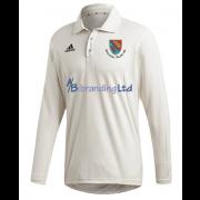 Holtwhite Trinibis CC Adidas Elite Long Sleeve Shirt