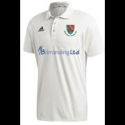 Holtwhite Trinibis CC Adidas Elite Short Sleeve Shirt