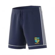 RUMS CC Adidas Navy Junior Training Shorts