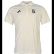 Lanchester CC Adidas Pro Junior Short Sleeve Polo