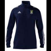 Lanchester CC Adidas Navy Zip Junior Training Top