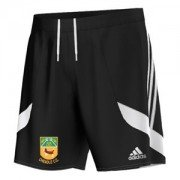Cheadle CC Adidas Black Junior Training Shorts