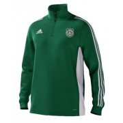 Ellon Gordon CC Adidas Green Junior Training Top
