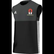 Tadcaster Magnet CC Adidas Black Training Vest
