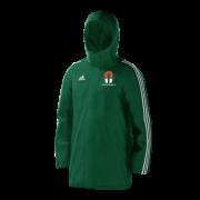 Tadcaster Magnet CC Green Adidas Stadium Jacket