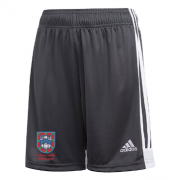 Pudsey Congs CC Adidas Black Junior Training Shorts