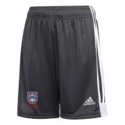 Pudsey Congs CC Adidas Black Training Shorts