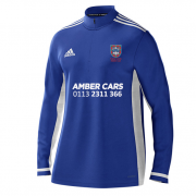 Pudsey Congs CC Adidas Royal Blue  Zip Training Top
