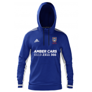 Pudsey Congs CC Adidas Royal Blue Junior Hoody