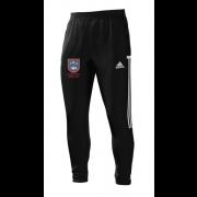 Pudsey Congs CC Adidas Black Training Pants