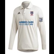 Pudsey Congs CC Adidas Elite Long Sleeve Shirt