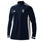 Chingford Adidas Navy Zip Training Top