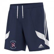 Moorlands CC Adidas Navy Training Shorts