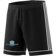Newcastle City CC Adidas Black Junior Training Shorts