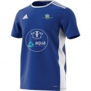Newcastle City CC Adidas Blue Junior Training Jersey