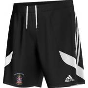 Collingwood College CC Adidas Black Training Shorts