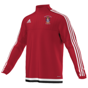 Collingwood College CC Adidas Red Training Top