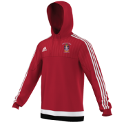 Collingwood College CC Adidas Red Hoody