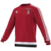 Collingwood College CC Adidas Red Sweat Top
