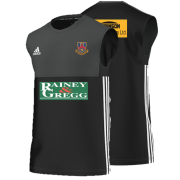 Ballymena CC Adidas Black Training Vest