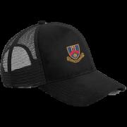 Ballymena CC Black Trucker Hat