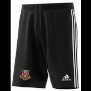 Ballymena CC Adidas Black Junior Training Shorts