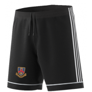 Ballymena CC Adidas Black Training Shorts