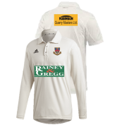 Ballymena CC Adidas Elite Long Sleeve Shirt