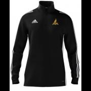 Fillongley CC Adidas Black Zip Junior Training Top