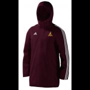 Fillongley CC Maroon Adidas Stadium Jacket