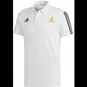 Fillongley CC Adidas White Polo