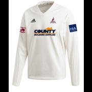 Fillongley CC Adidas Elite Long Sleeve Sweater