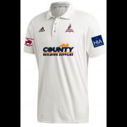 Fillongley CC Adidas Elite Junior Short Sleeve Shirt