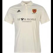 Wallington CC Adidas Pro Junior Short Sleeve Polo
