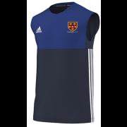 Wallington CC Adidas Navy Training Vest