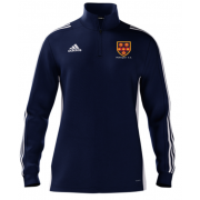 Wallington CC Adidas Navy Zip Training Top