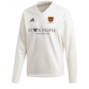Wallington CC Adidas Elite Long Sleeve Sweater