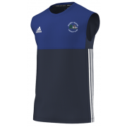 Church Fenton CC Adidas Navy Training Vest